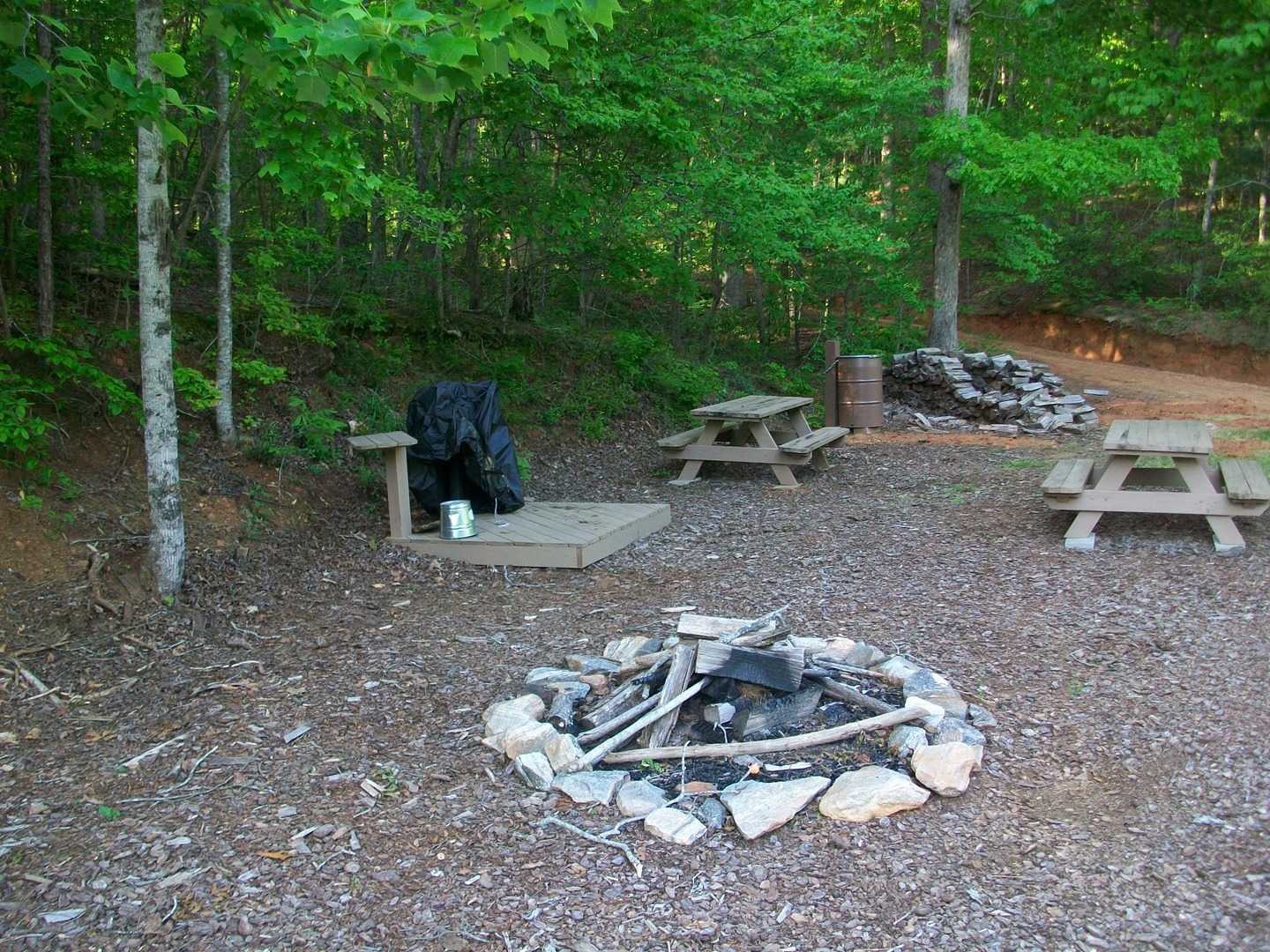 Fausett Farms-Primitive Campsites - Dawsonville